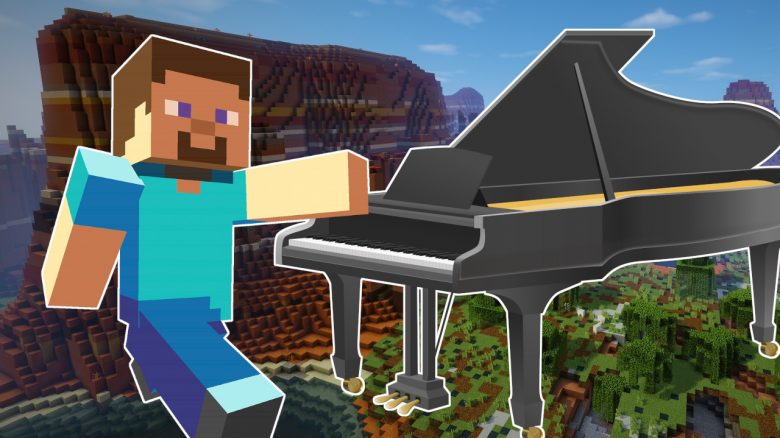 Minecraft Piano title 1280x720