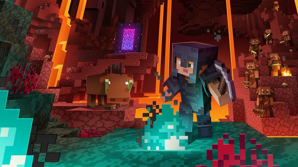 Minecraft Texture Pack Nether titel 1280x720