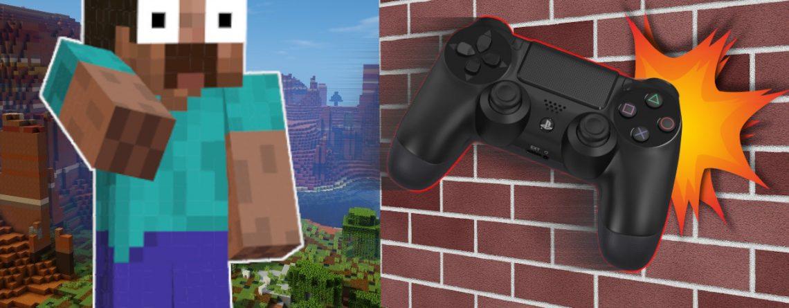 Minecraft Throw controller titel 1280x720