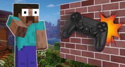 Minecraft: Wetten, hier hättet auch ihr euren Controller weggeworfen?