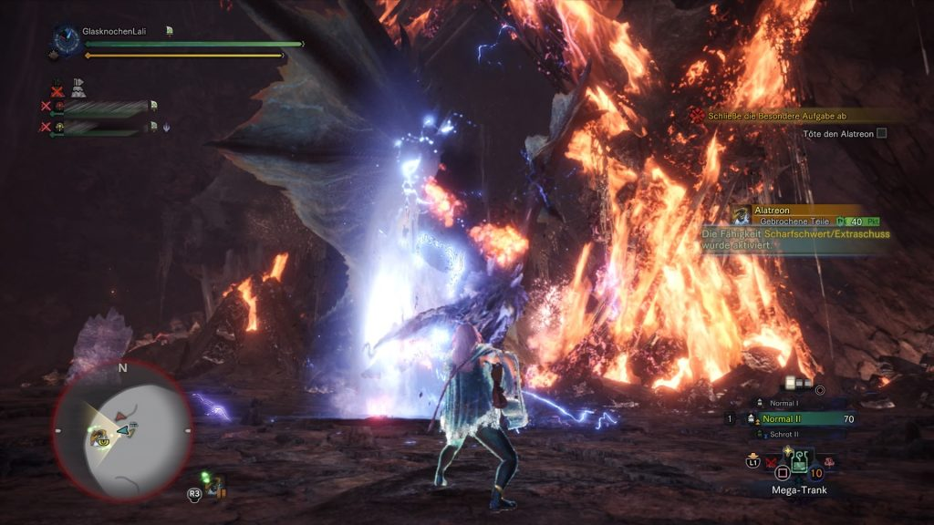Monster Hunter World Iceborne Alatreon Kampf Hörner brechen