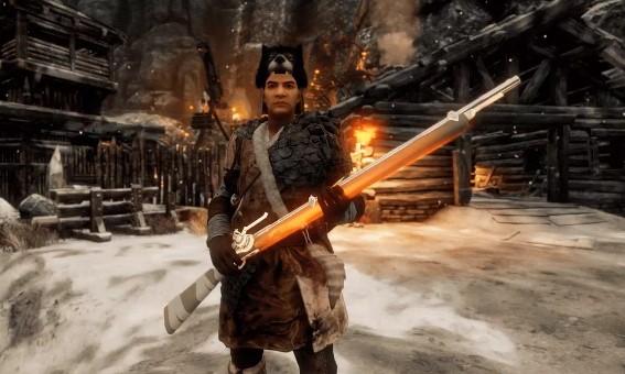 New World Muskete Light in the Dark
