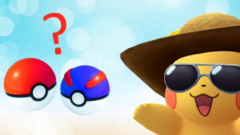 Pokémon GO Pikachu Bälle Titel