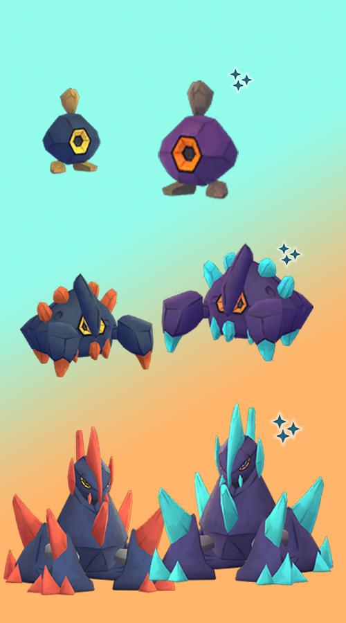 Pokémon GO Shiny Kiesling