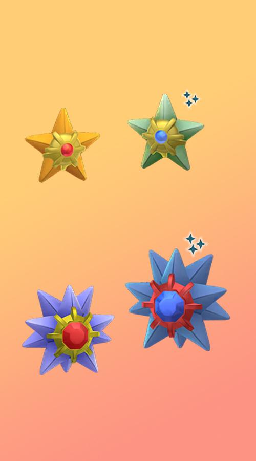 Pokémon GO Shiny Sterndu