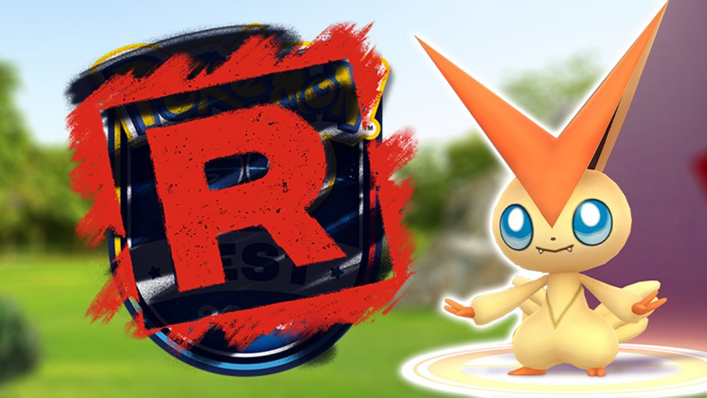 Pokémon GO Team GO Rocket Victini Titel