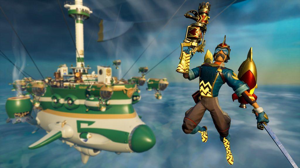 Rocket Arena Screenshot Flug
