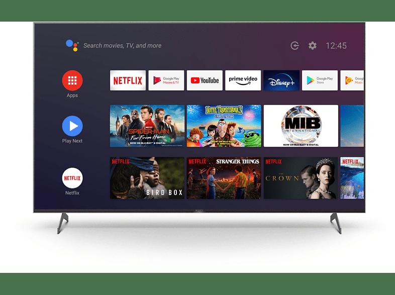 Sony XH90 UHD-TV im App-Menü