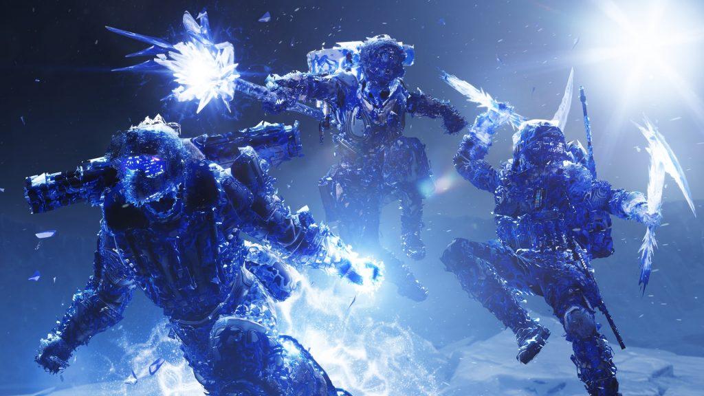 Stasis Eis Dunkel Klassen Element Destiny 2 Titel