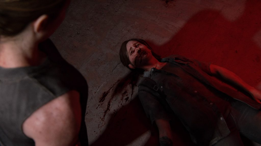 The Last of us Part 2 Abby Ellie defeated