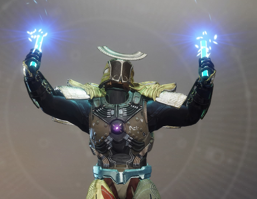 Titan Dynamit Emote Exotic Spannungspferch Destiny 2