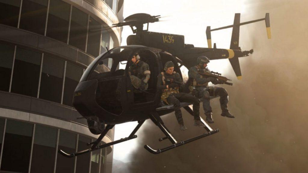 Helikopter CoD Warzone