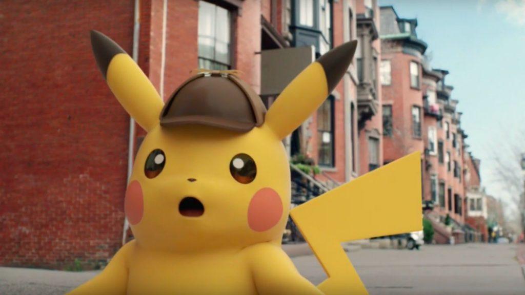 Pikachu erschrocken