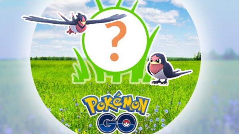Pokémon GO: Heute Rampenlicht-Stunde mit Schwalbini und wichtigem Bonus