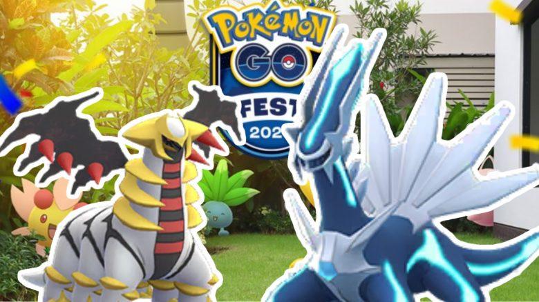 Pokémon GO Fest: Tag 2 bringt Giratina, Palkia, Dialga und tolle Spawns
