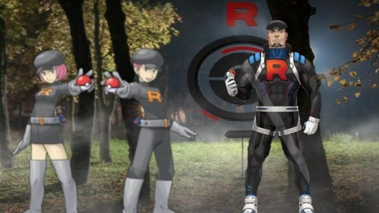 Team GO Rocket Pokemon GO