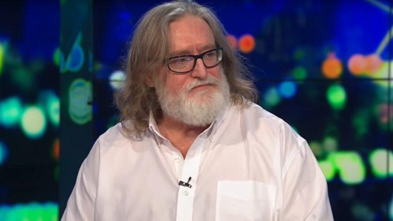 Titelbild Gabe Newell Valve Chef
