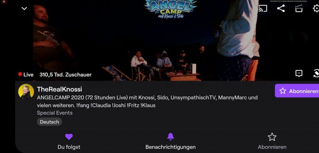 Twitch-Rekord-Knossi