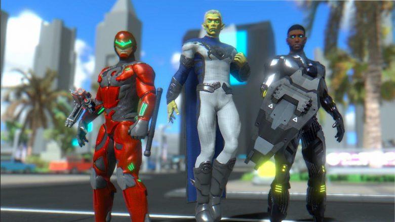 Neues MMORPG lässt euch Superheld spielen, startete heute die Beta