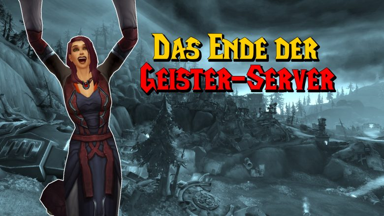 WoW Ende Geisterserver human cheer titel title 1920x1080