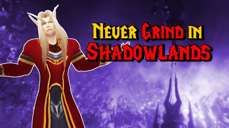WoW Grind in Shadowlands titel title 1280x720