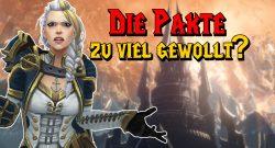 WoW Shadowlands: Hat Blizzard sich mit den Pakten übernommen?