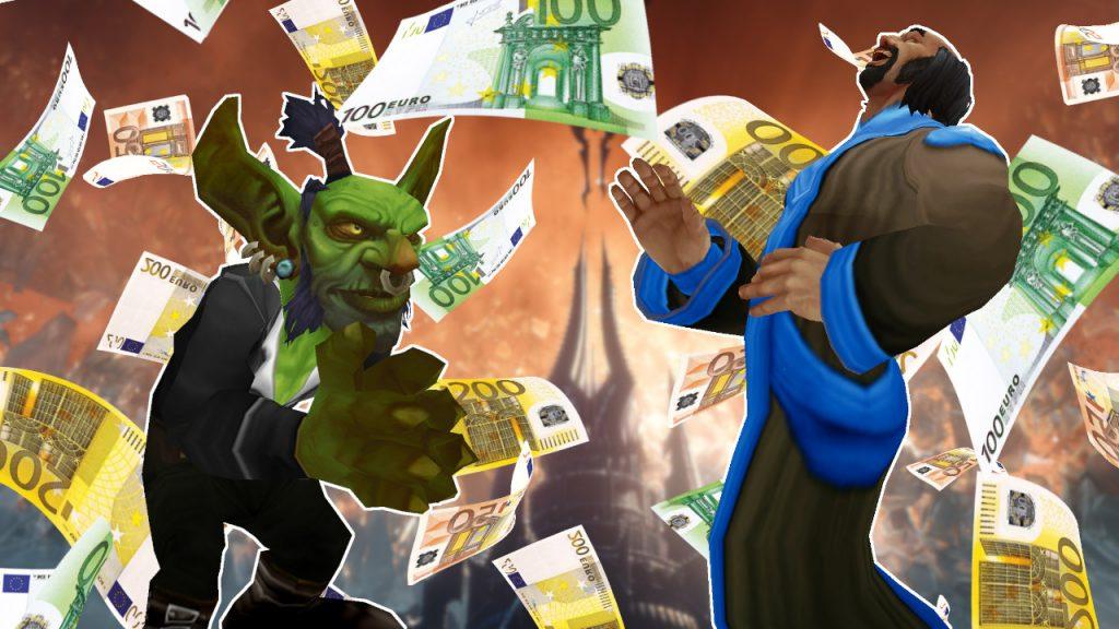 WoW Money Goblin GameMaster titel title 1280x720