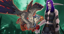 WoW Night Elf Flying Mount Shadowlands titel title 1280x720