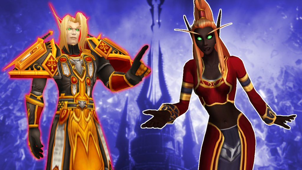 WoW Paladin no black blood elf titel title 1280x720