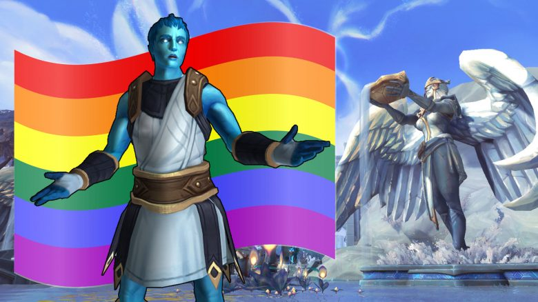WoW Pride Flag Kyrian Bastion titel title 1920x1080