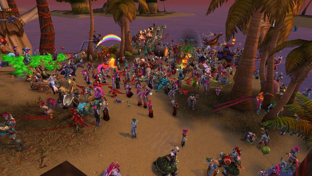 WoW Running of the Trolls Beach