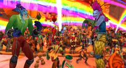 WoW Running of the trolls colorful title titel 1920x1080