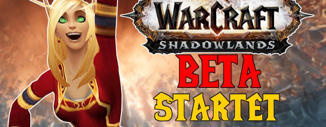 WoW Shadowlands Beta startet title 1280x720