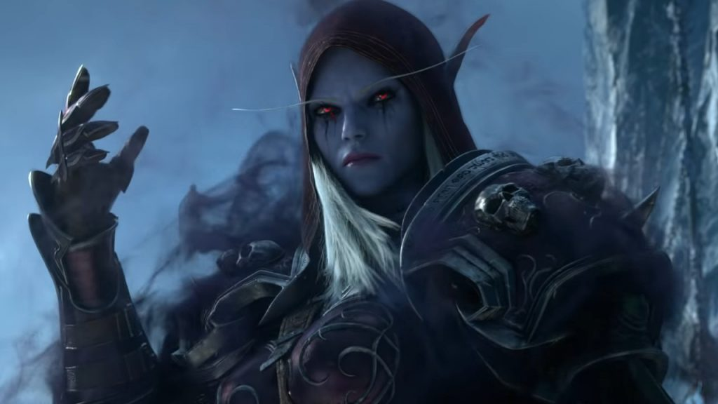WoW Shadowlands Sylvanas title 1280x720