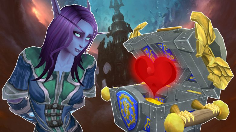 WoW Shadowlands Void Elf Telestra chest titel 1280x720