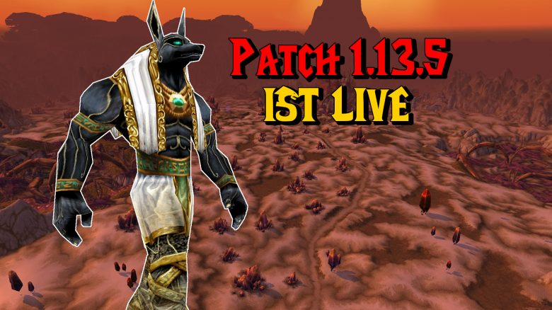 WoW Silithus Patch 1135 ist live titel 1920x1080