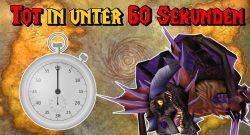 WoW Stop clock onyxia dead 60 sekunden titel title 1280x720