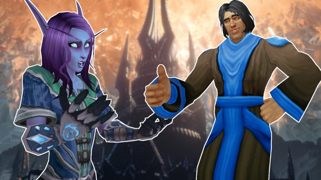 WoW Void Elf Question Game Master yes titel title 1280x720