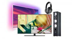 TV & Audio Sale mit Samsung QLED-Fernseher und mehr bei Alternate