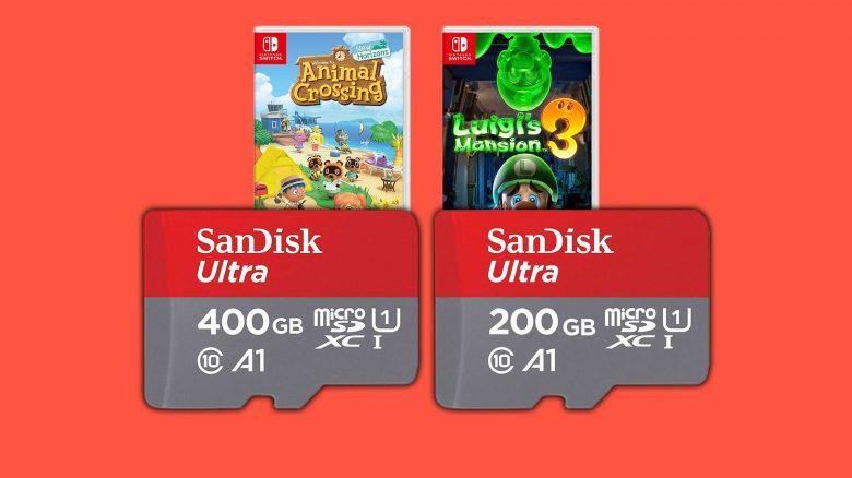 Amazon Angebote: Micro-SD Karten & Spiele für Nintendo Switch