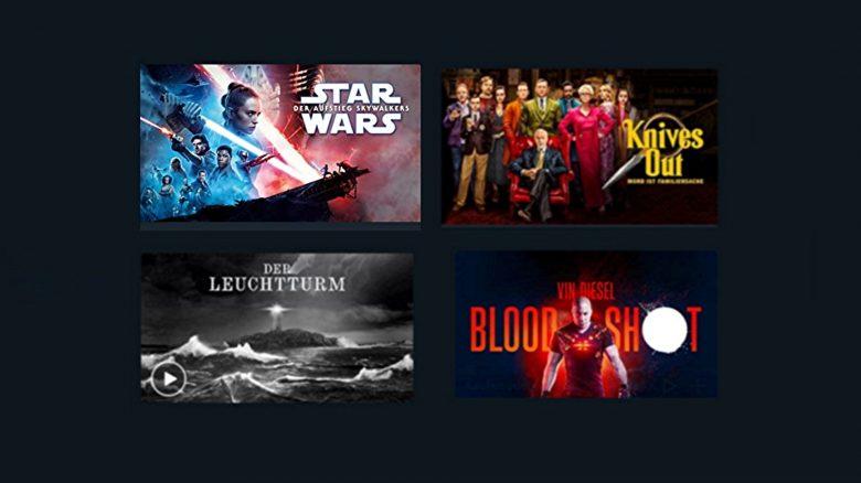 Star Wars und weitere Filme für 97 Cent leihen aktuell bei Amazon Prime