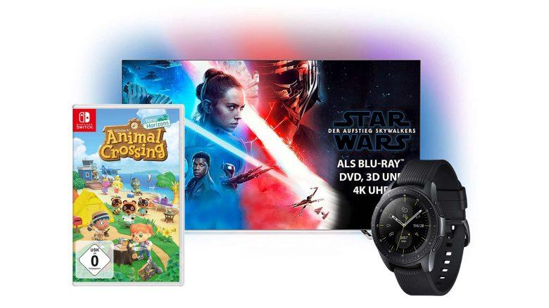 Amazon Sommerangebote mit Philips OLED 4K TV & Animal Crossing