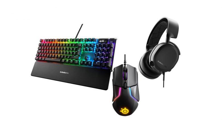 SteelSeries Gaming-Maus, Tastatur und Headset reduziert bei Amazon