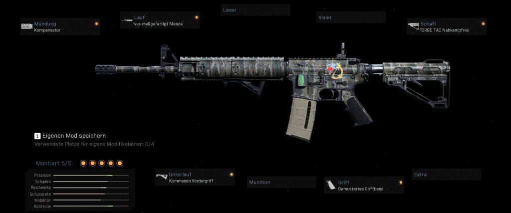 cod modern warfare neues pro setup m4a1