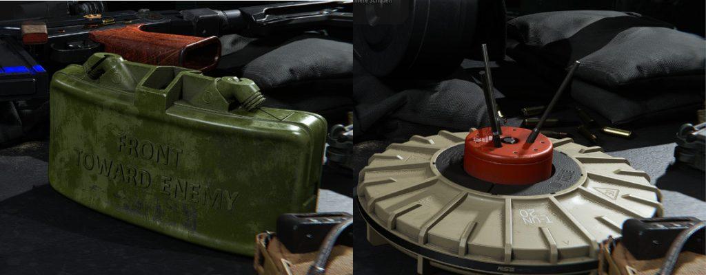 cod modern warfare primäre ausrüstung claymore näherungs mine