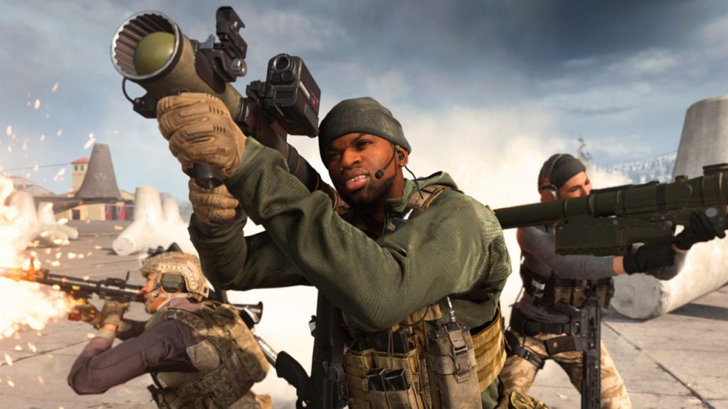 cod modern warfare warzone playlist update soldaten raketenwerfer titel