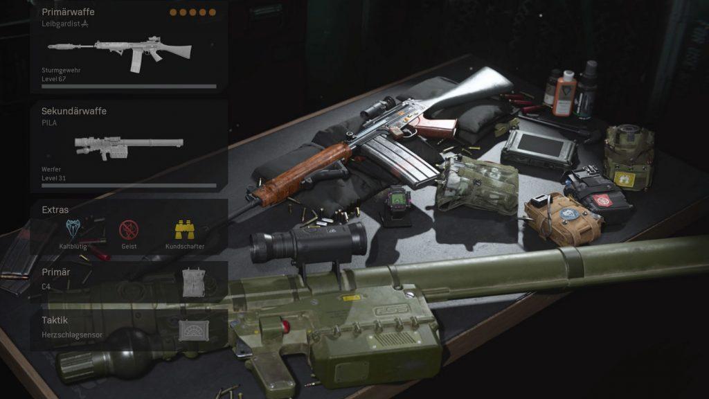 cod modern warfare warzone waffe FAL loadout ansicht