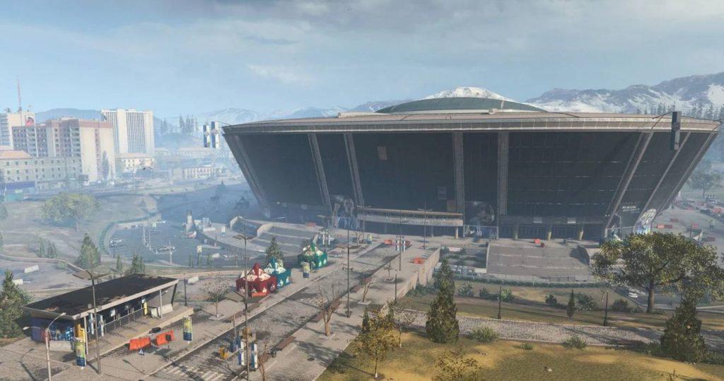 cod warzone stadion
