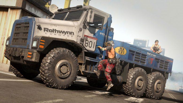 CoD Warzone hat einen Truck des Todes, der unvorsichtige Spieler verschlingt