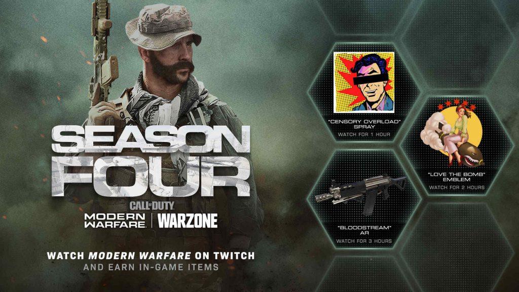cod warzone twitch drops juli 2020